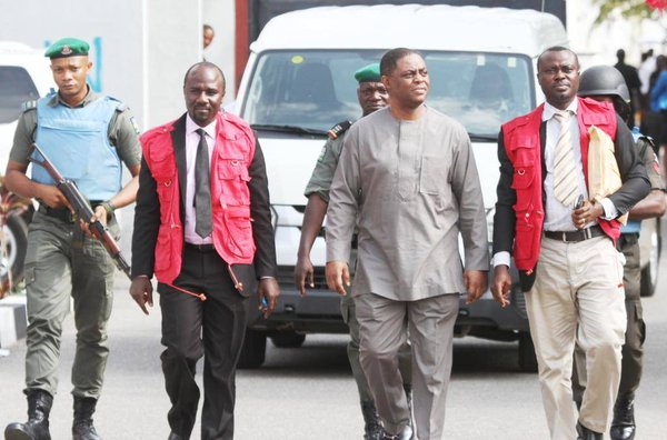 It was one of EFCC agents who saw the incident and raced to Fani-Kayode's assistance after which he was rushed to the clinic in the EFCC complex- Aide