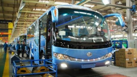Buhari To Receive 18-Seater Bus Built By N-Delta Youths At Innoson Motors