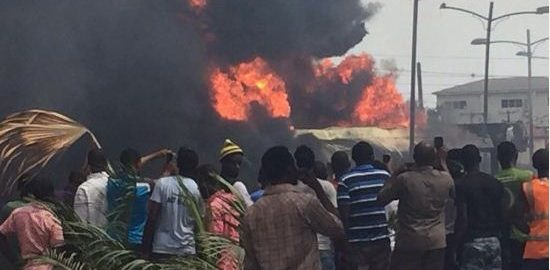 Image result for house on fire in nigeria