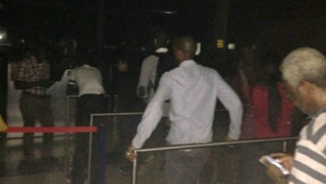 International Flights Board In 'Pitch Darkness' At Lagos Airport