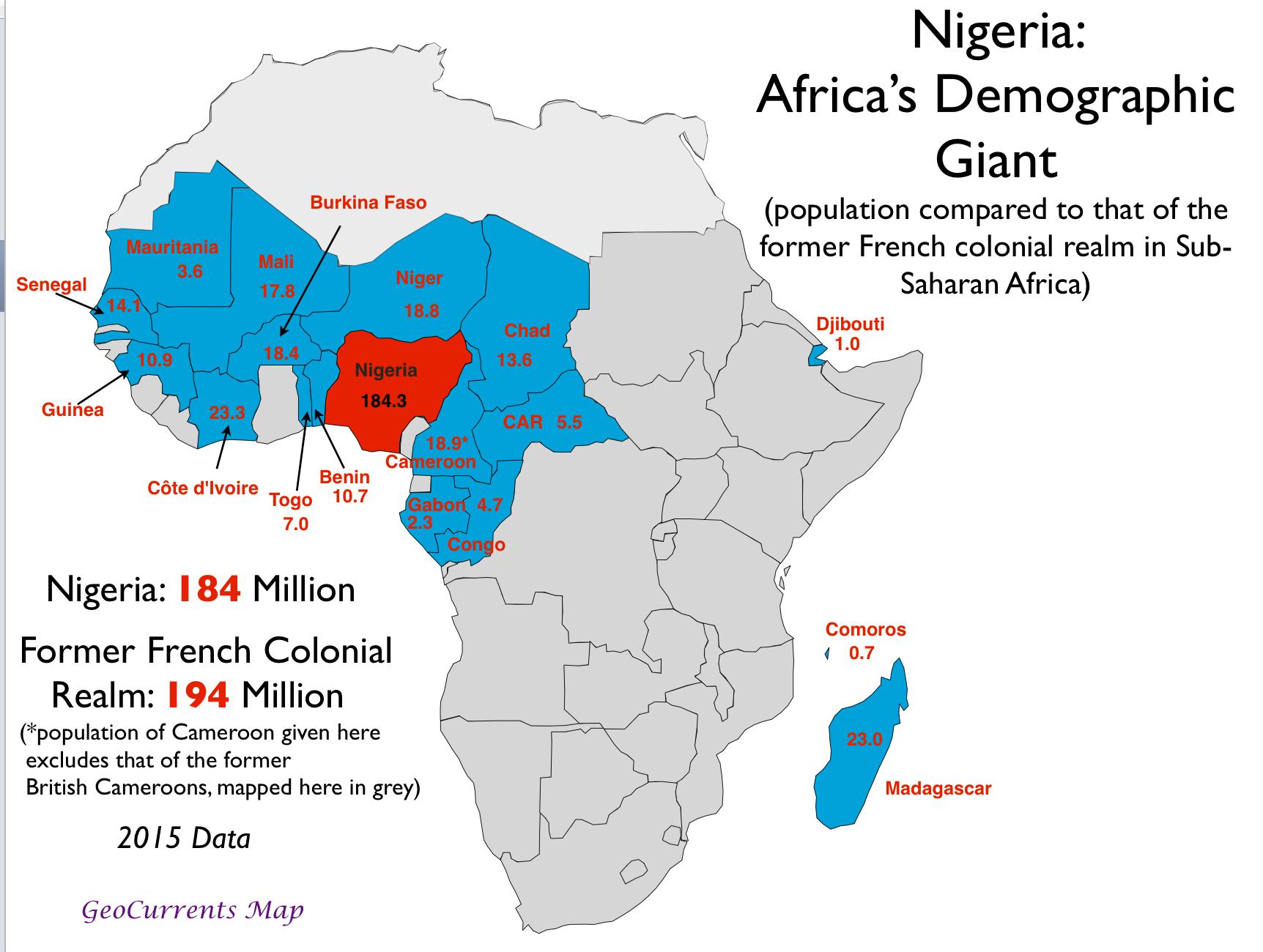 Demographics of Nigeria