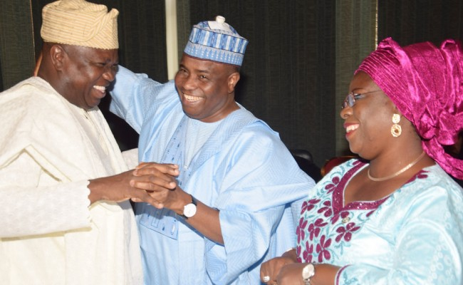 Nigerian governors Celebrates News of More Funds Through Assets Sales.