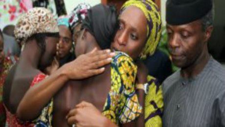 FG Releases Names Of Freed Chibok Girls