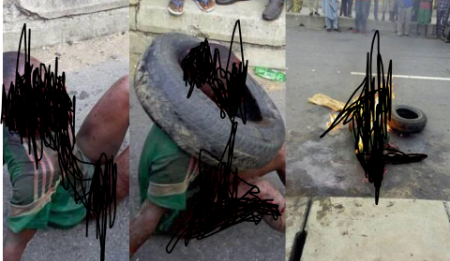 7-year Old Boy In Lagos Lynched For Stealing Garri