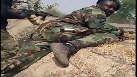 Gunfight Between Boko Haram And Nigerian Army