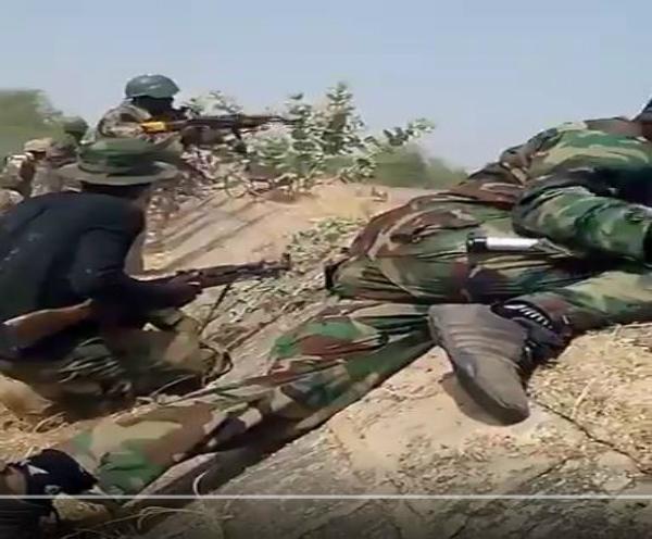 Gunfight Between Boko Haram And Nigerian Army