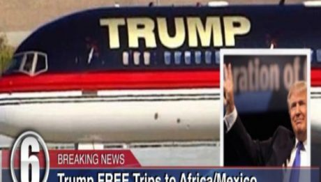Trump Offering Free One-Way Tickets to Africa & Mexico
