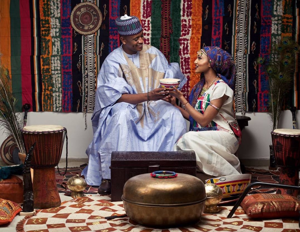 Image result for Zahra Buhari And Ahmed Indimi Pre-Wedding Photo