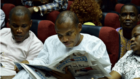 Court To Rule Feb 10 On Nnamdi Kanu's Motion To Quash Charges