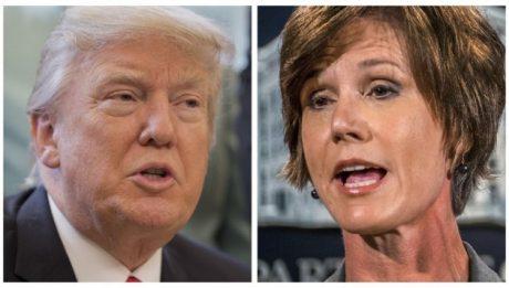 Trump Fires Attorney-General Over Refugee Order