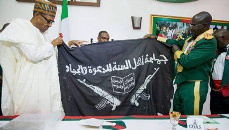 fake Boko Haram flag