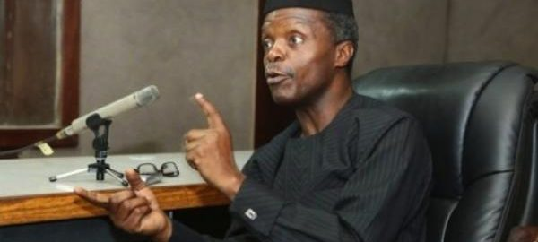 Osinbajo Explodes: I Am Not Buhari, I Will Flush Out Any Northern Cabal That Wants To Undermine My Powers