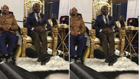 Apostle Suleman 'Heals' A Crippled Man