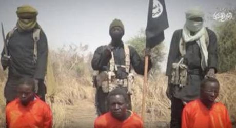 Boko Haram Beheads Alleged Government Spy, Executes 2 In Video