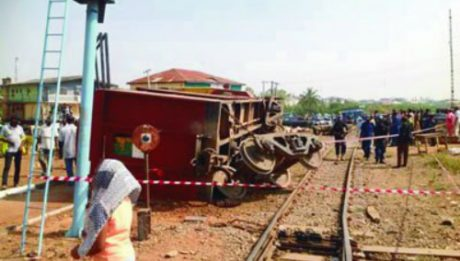 Lagos-Kano Train Derails In Osogbo