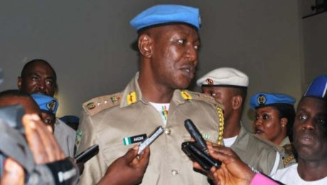 Police Charges Peace Corps Commandant, Dickson Akoh, Others To Court