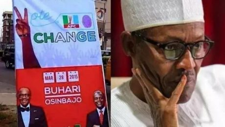 To Those Who Believe APC: Where Is The Promised Change Of $1 To ₦1? – Reno