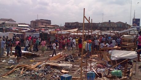 Traders In Tears And Pains As Goods Worth Millions Destroyed As Rivers Govt. Demolishes Popular Port Harcourt Market