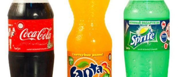 Fanta and Sprite soft drinks