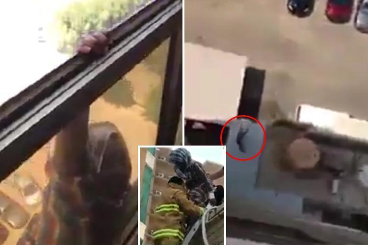 Kuwait Employer Films Her Ethiopian Housekeeper Falls From 7th Floor While Cleaning