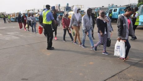 253 Nigerians Deported From Libya Arrive Lagos Airport