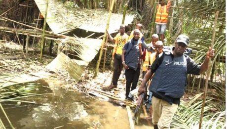 Police Demolish Criminal Hideouts In Lagos Creeks