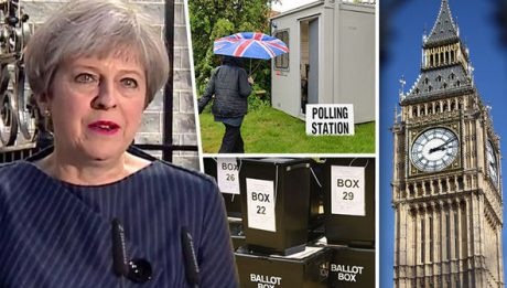 Theresa May has called a snap general election for June 8