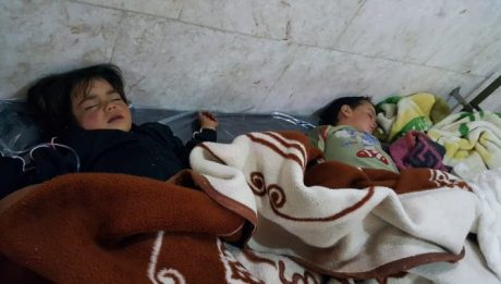 chemical attack by the Syrian government