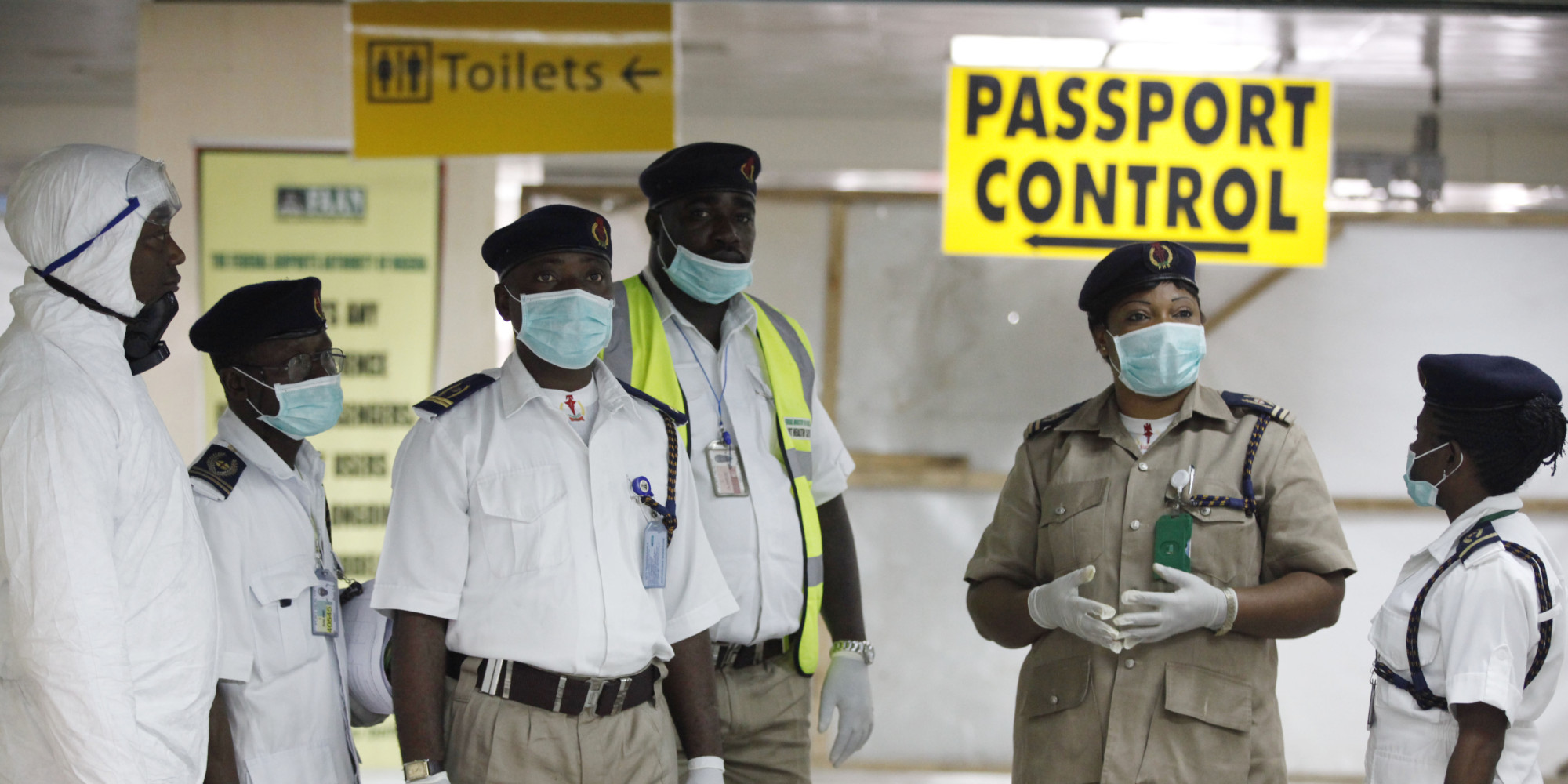 Ebola Screening Points At Airports