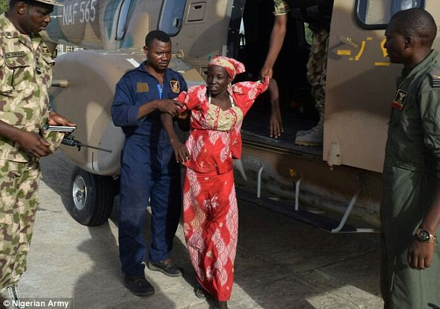 Freed Chibok Schoolgirls To Be Flown To Maiduguri