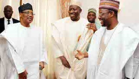 Jonathan Leads PDP Big Wigs To Halimat Babangida's Wedding