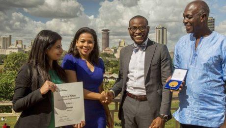 Nigerian Benson Wins £25,000 For Tutoring App