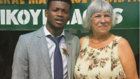 Nigerian Boy Celebrates 6th Wedding Anniversary