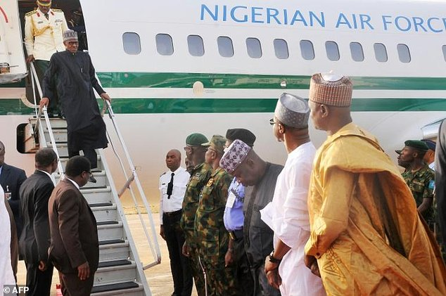 No News Of Buhari's Arrival, After Several Hours Of Leaving Nigeria To UK, Nigerians Are Worried