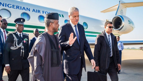Osinbajo Departs Abuja For Italy G7 Summit