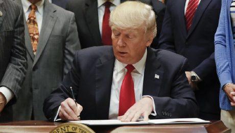 President Trump signed a $1.1 trillion spending bill