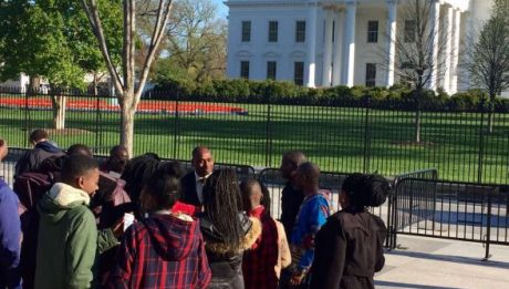 Thousands Of Nigerians In Washington D.C Shut Down White House