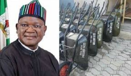#WheelbarrowControversy: My Detractors Jealous Of My Achievements – Gov Ortom