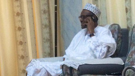 Buhari Speaks From London Hospital