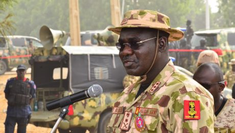 Army Chief Threatens APC Politicians: I Will Crush Any Coup Plot Against Buhari