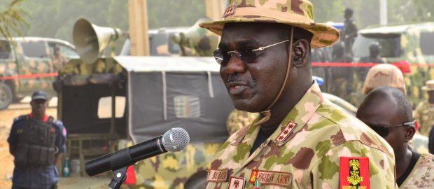 Army Chief Threatens APC Politicians: I Will Crush Any Coup Plot Against Buhari
