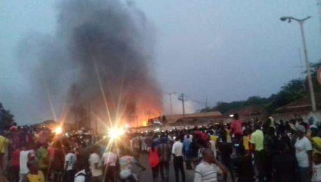 Sekondi/Takoradi: Gas explosion injures 30 people, 4 other companies affected