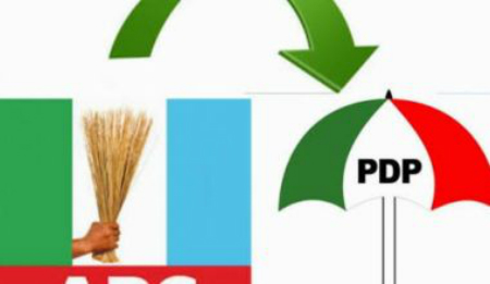 Image result wey dey for Osun APC and PDP