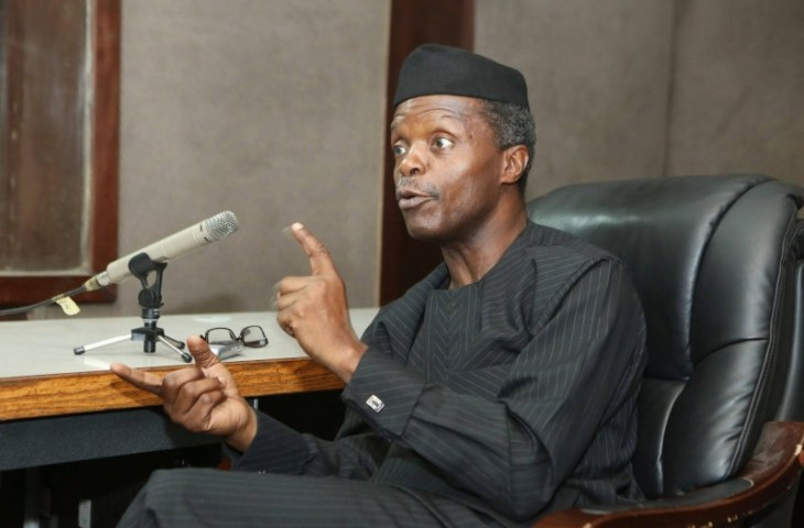 Agitation for BIAFRA is a violation of the Nigerian constitution - Acting President Osinbajo warns