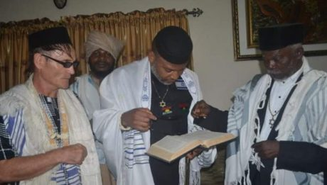 To Prove That Igbos Are Truly From Israel, Jewish Brothers Open To Kanu Where It Is Written Of The Igbos In Torah (PHOTOS)
