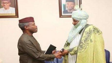 Osinbajo, Emir Sanusi In Secret Meeting