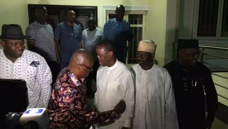 PDP Governors Meet At Fayose's House