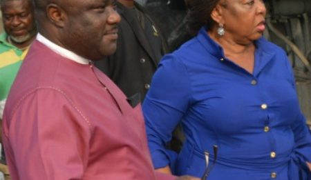 Senator Ita Giwa Accused Of Stealing 300 Bags Of Rice