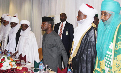 We All Agree Our Nation Should Remain One – Osinbajo