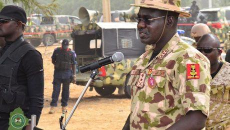 Buratai, others relocate to Maiduguri